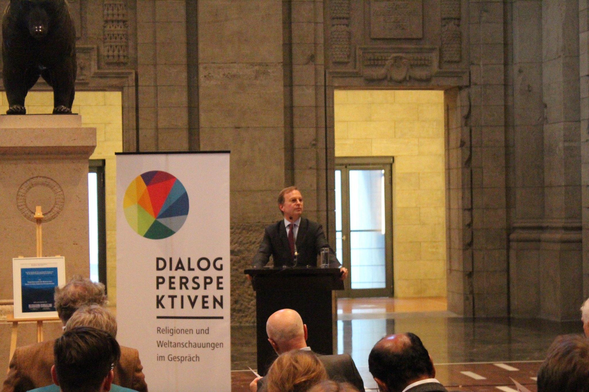 Dialogperspektiven-Auftakt: Staatssekretär Thomas Rachel, MdB, BMBF. Bild: Jonas Fegert
