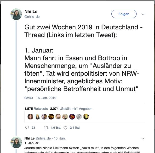 Twitter-Thread von @nhile_de